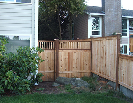 Installed new fencing.