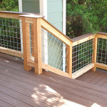 Designed and installed deck with stairs.